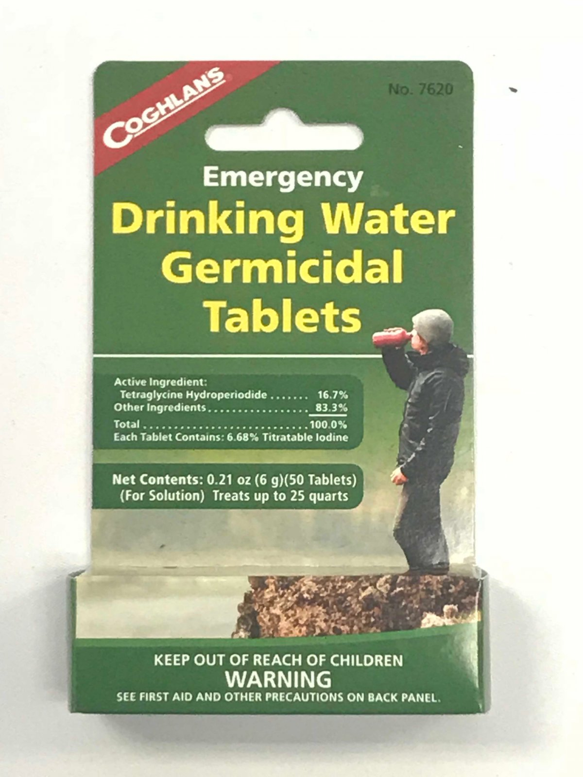 Drinking Water Germicidal Tablets (50)