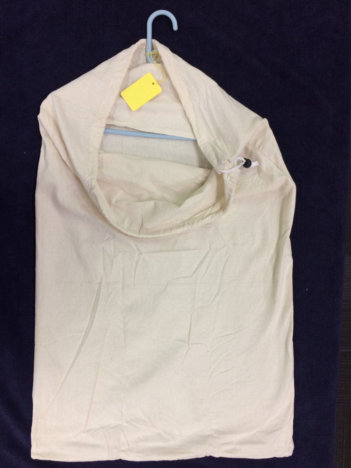 Extra Large Cotton Laundry bag with Hanger insert LB40WH