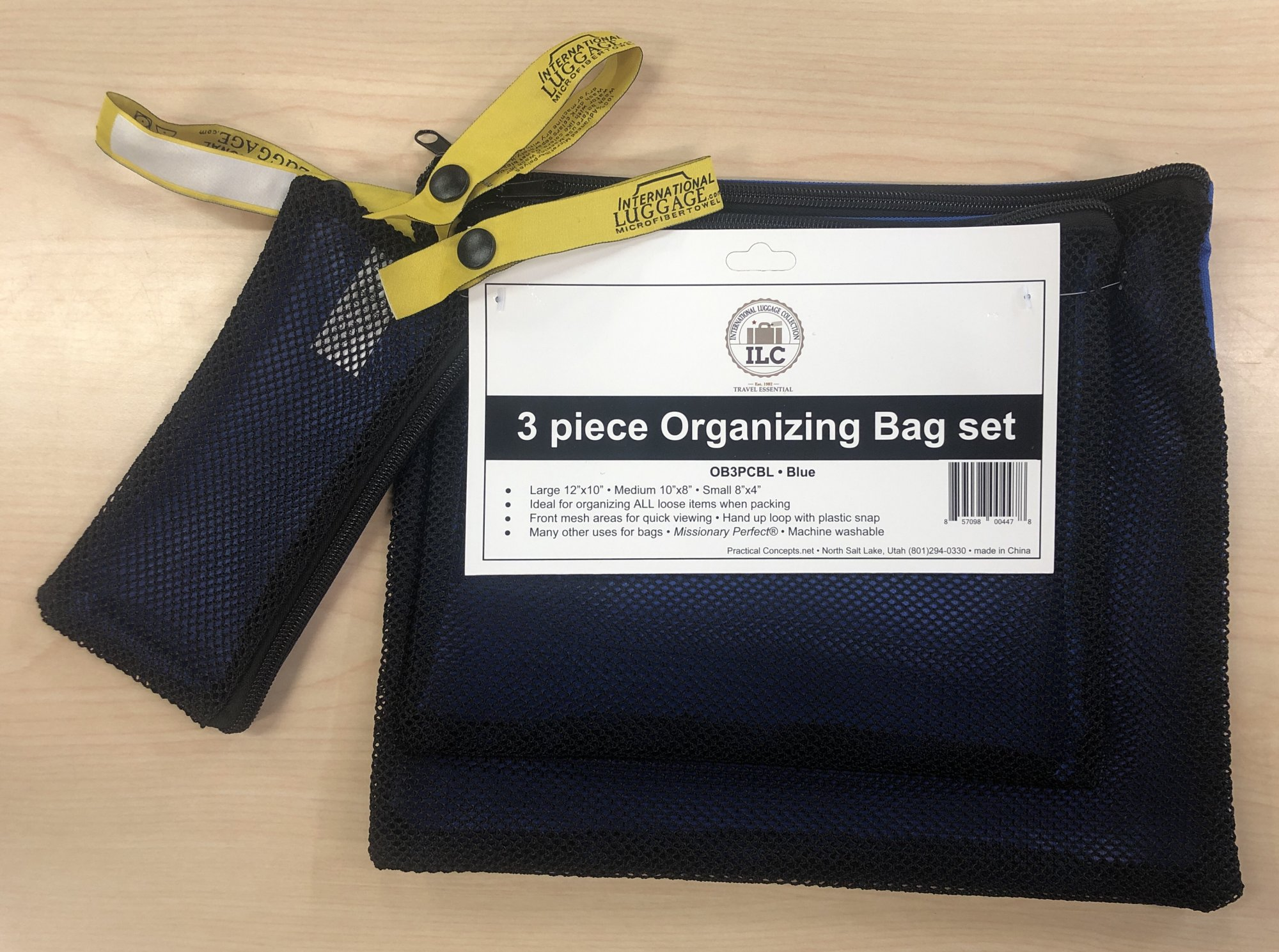 Organizer Bags (3 piece set) Blue