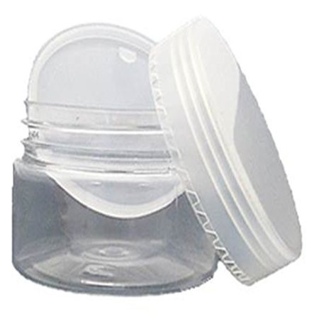 3oz Clear Jar with Leakproof Lid