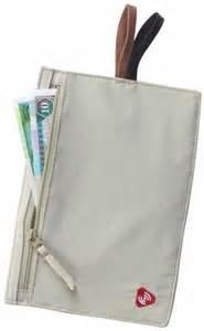 RFID Hidden Travel Wallet Tan Lewis N Clark1237