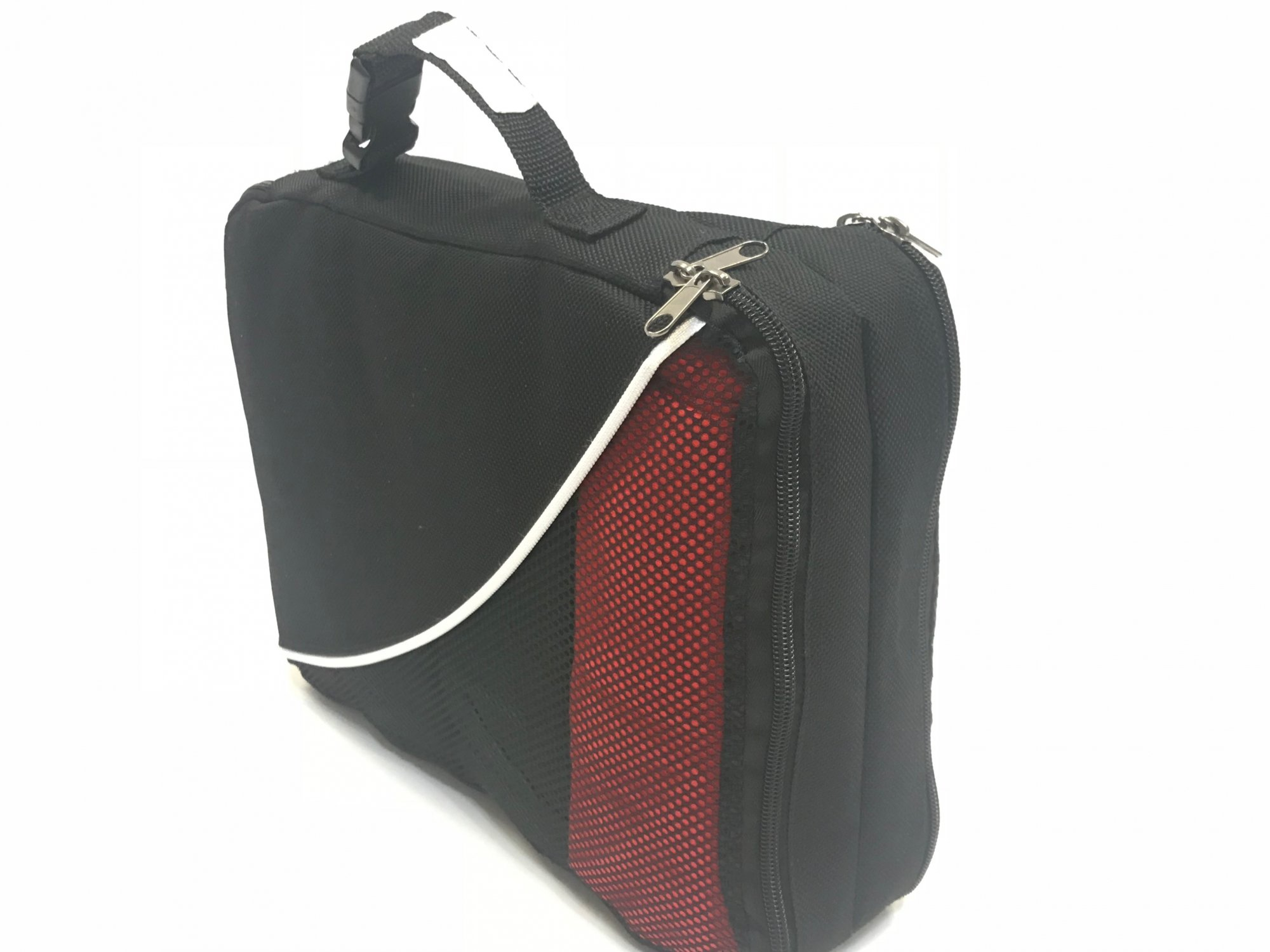 Packing Cube Double Sided Deluxe Black w/Mesh
