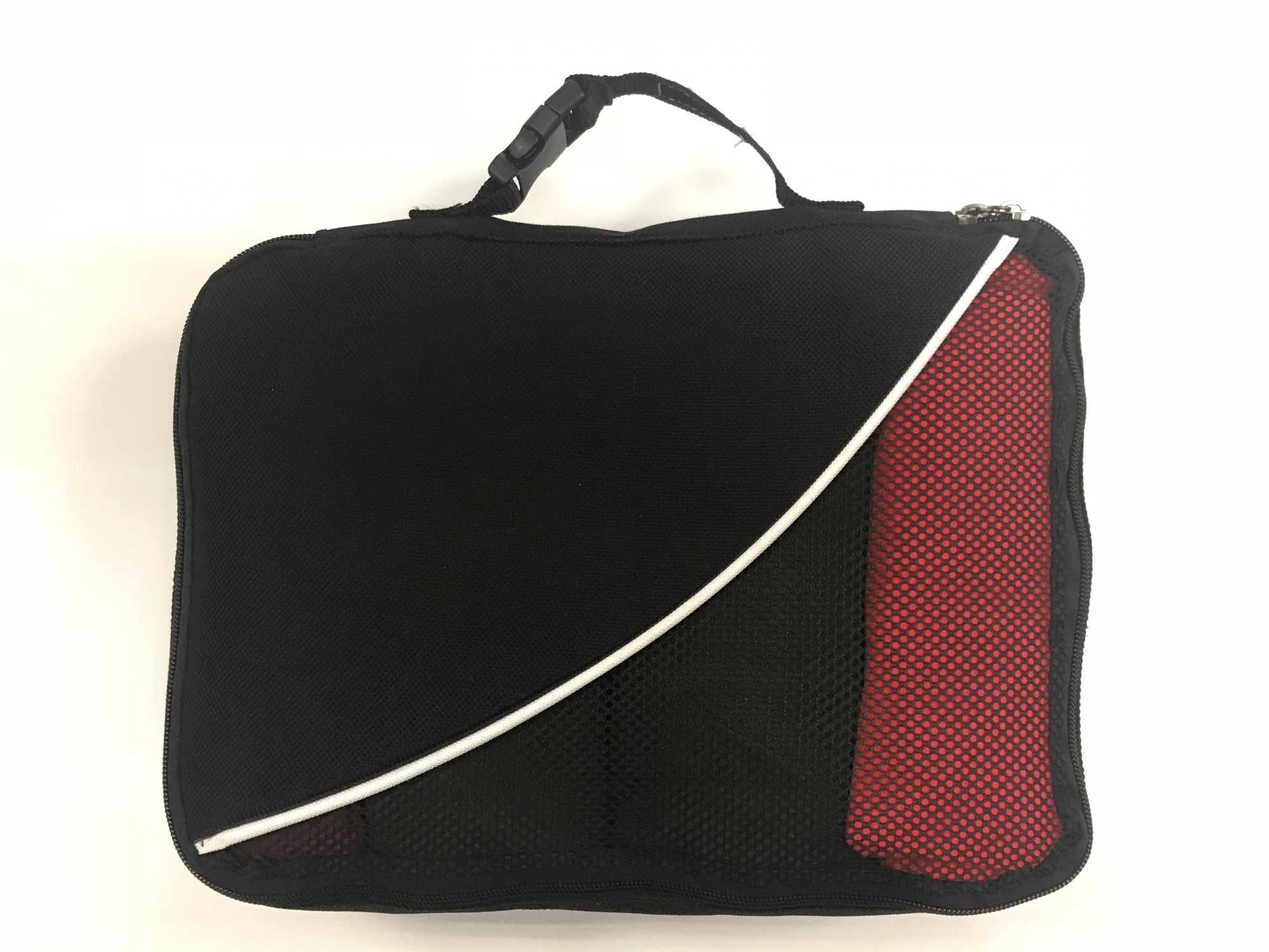 4 Four Packing Cubes Double Sided Mesh & includes 1 solid sided cube