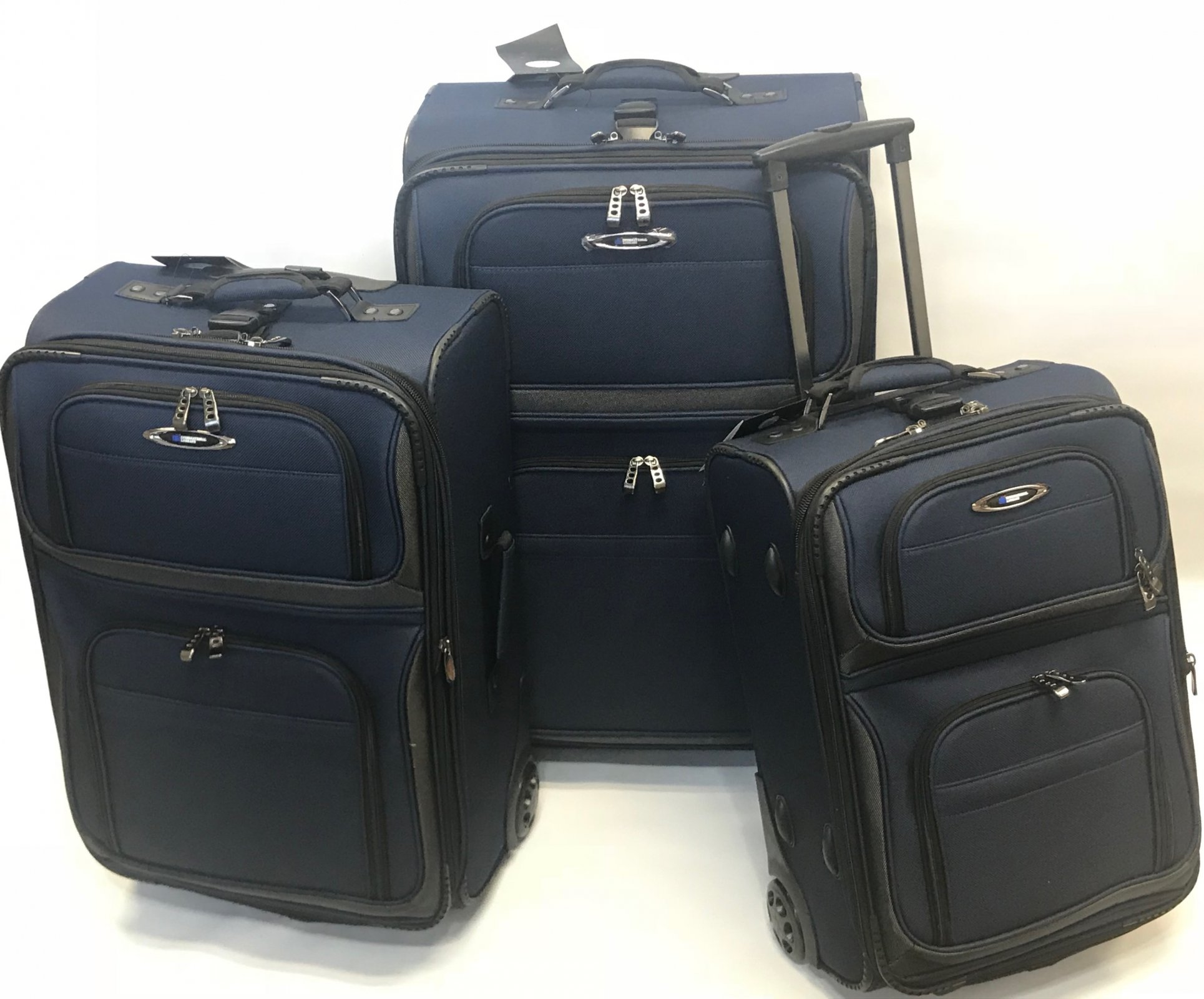 Rocky Mountain Series 3 pc Navy Set (domestic travel dimensions)