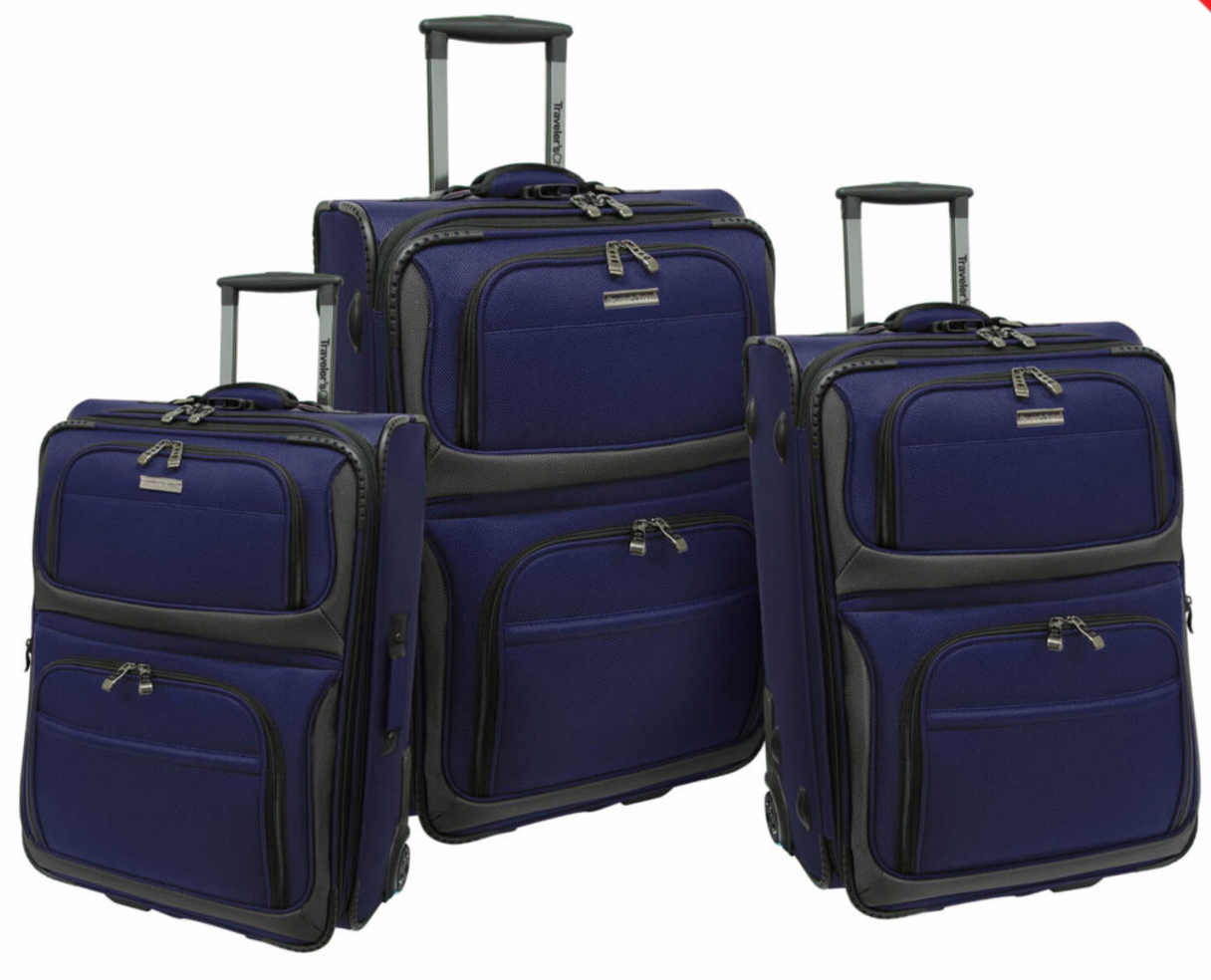 Navy- Rocky Mountain Series 3 pc Set (designed for domestic travel)