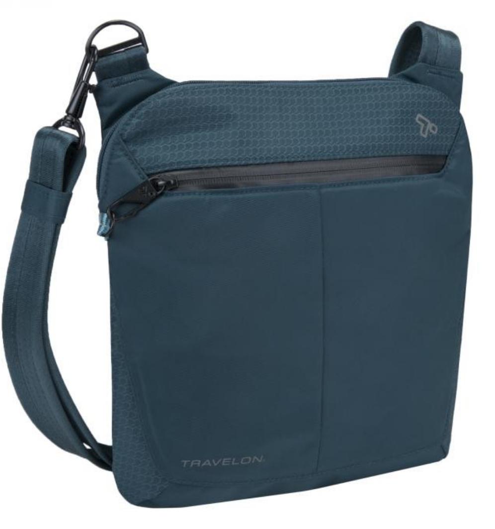Anti-Theft Active Small Crossbody Bag by Travelon 43126