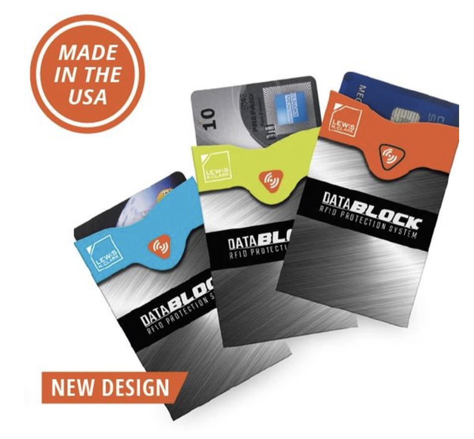 RFID Credit Card Sleeve Lewis N Clark 1209