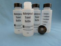 ILC Travel Bottle. lids & spray heads