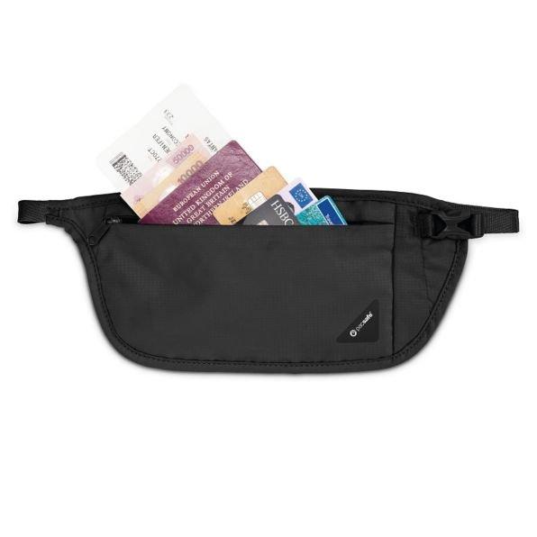Coversafe V100 Pacsafe RFID waist wallet