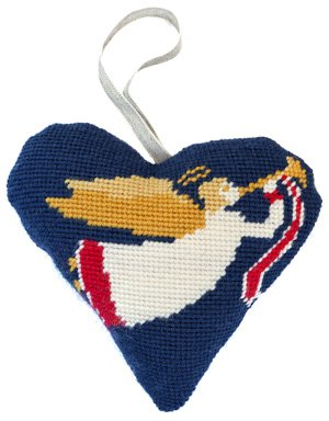 Angel Needlepoint Ornament Kit