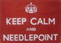 Keep Calm & Needlepoint