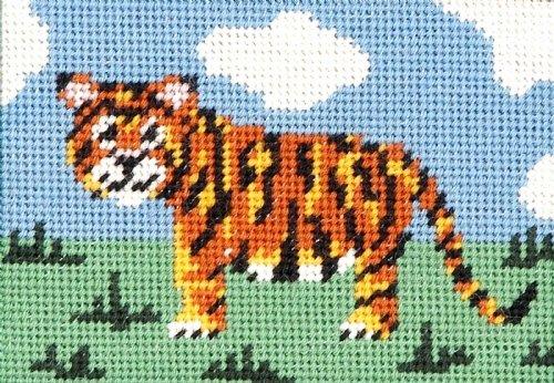 Tiger Needlepoint Kit