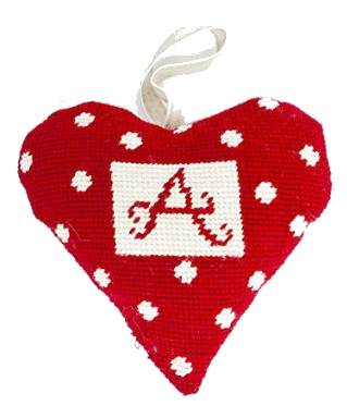 Alphabet Needlepoint Ornament Kit