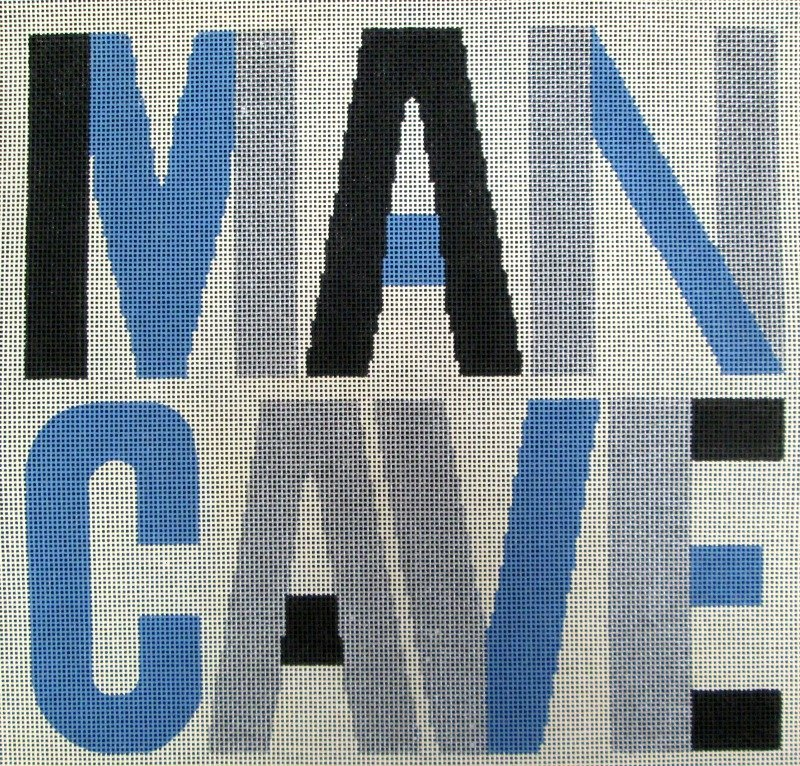 Man Cave Needlepoint
