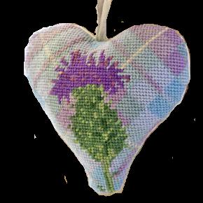 Thistle Needlepoint Ornament Kit