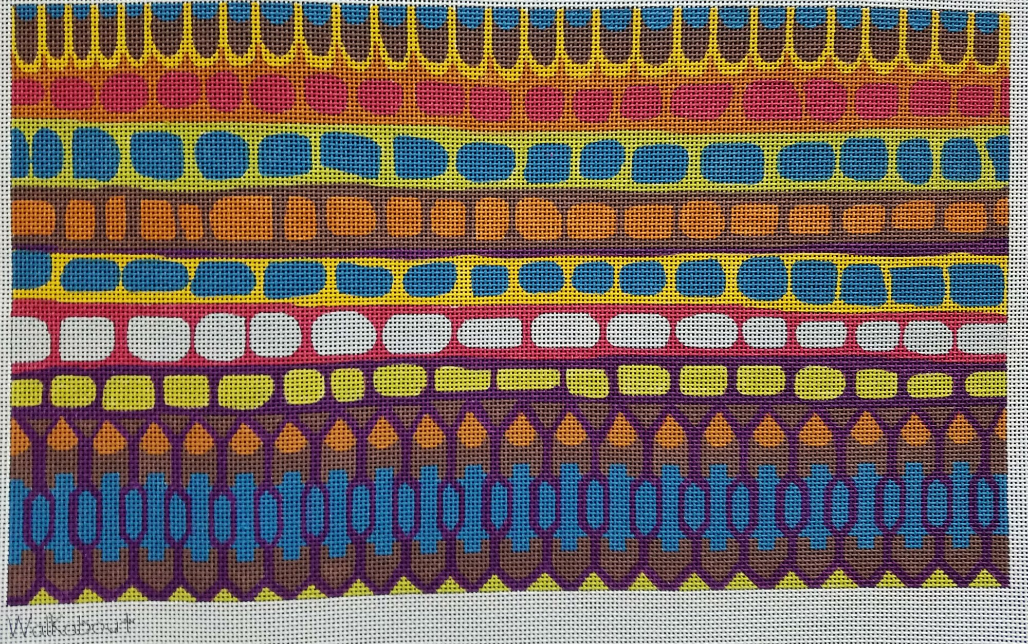 Walkabout Tribal Needlepoint