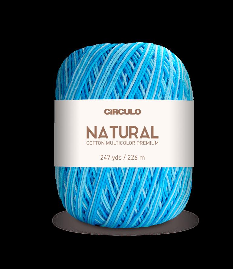 Natural Cotton Multicolor Premium (Circulo)