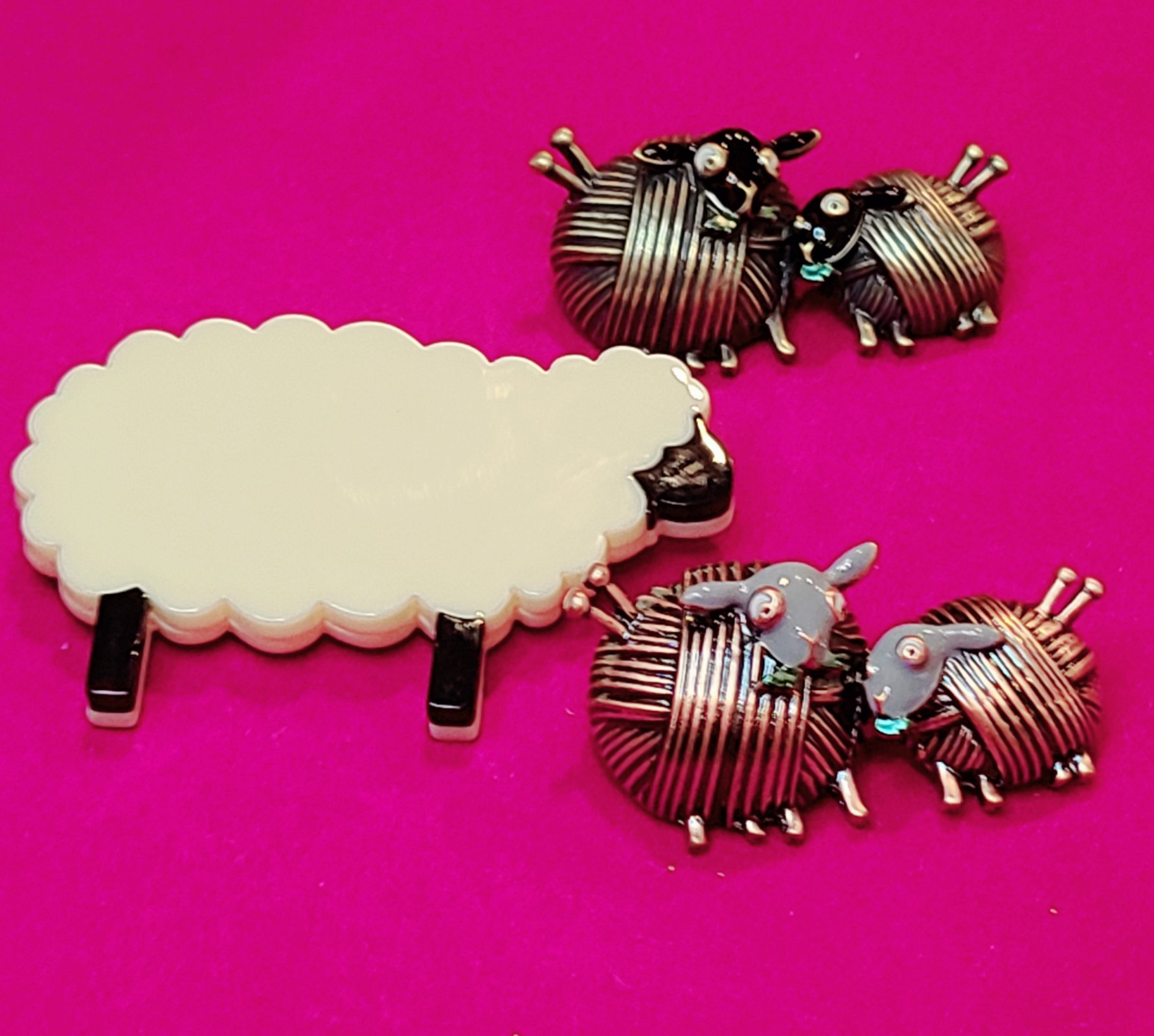 Pins - Premium Knitting Themed (A SHEEP THRILLS Exclusive)