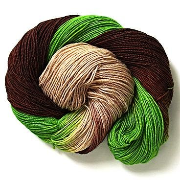 Sprout - Sock - Long Striped (Fiber Seed)