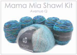 Mama Mia Shawl Kit