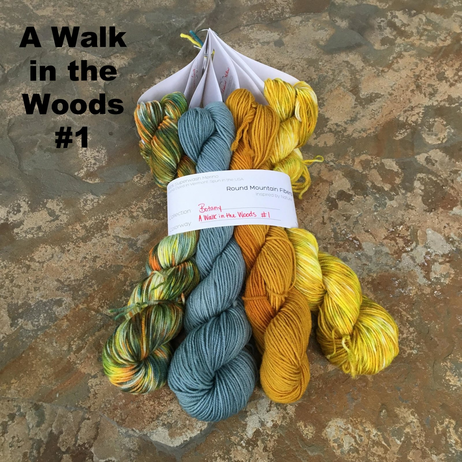 Botany A Walk in  the Woods Bundle ( Round Mountain Fibers)