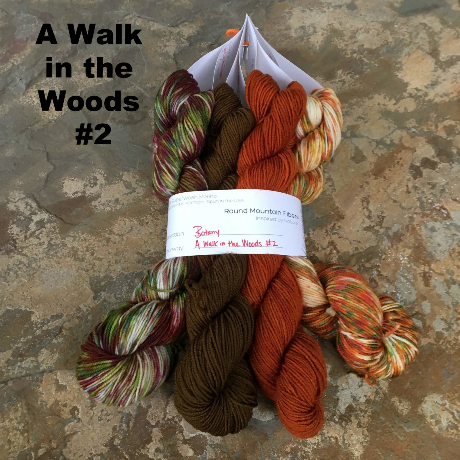 Botany A Walk in  the Woods Bundle (Round Mountain Fibers)