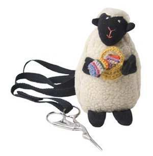 Baabs Sheep Scissor Holder with Apron