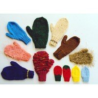 Ann Norling Basic Mittens Pattern - 2 needle