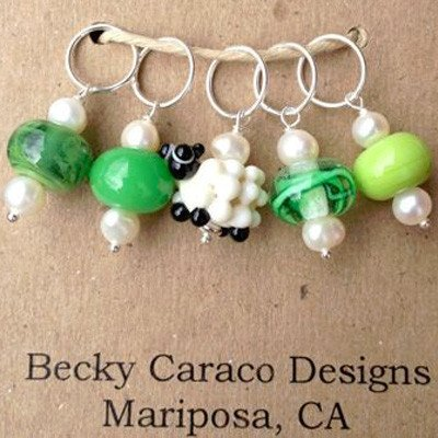 Stitch Marker Jewelry (Becky Caraco Designs)
