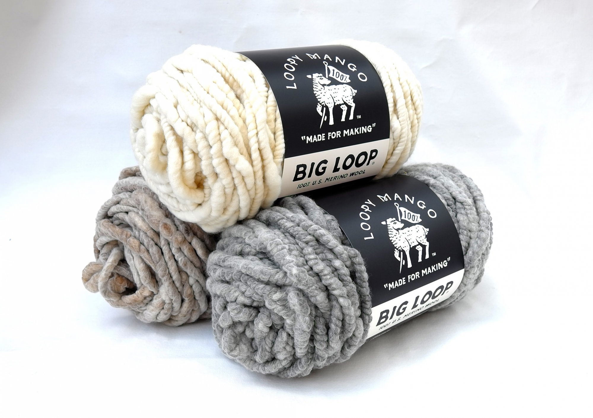 Big Loop Yarn (Loopy Mango)
