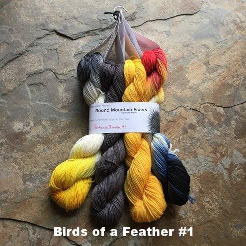 Ornithology Birds of a Feather Bundle (Round Mountain Fibers)