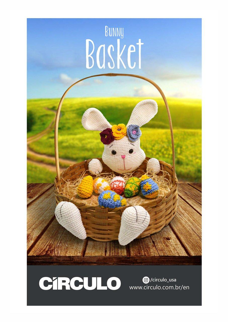 Circulo Bunny Basket Amigurumi Pattern (Digital Download)