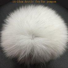 Pom Poms (13-15cm / Real Fur)
