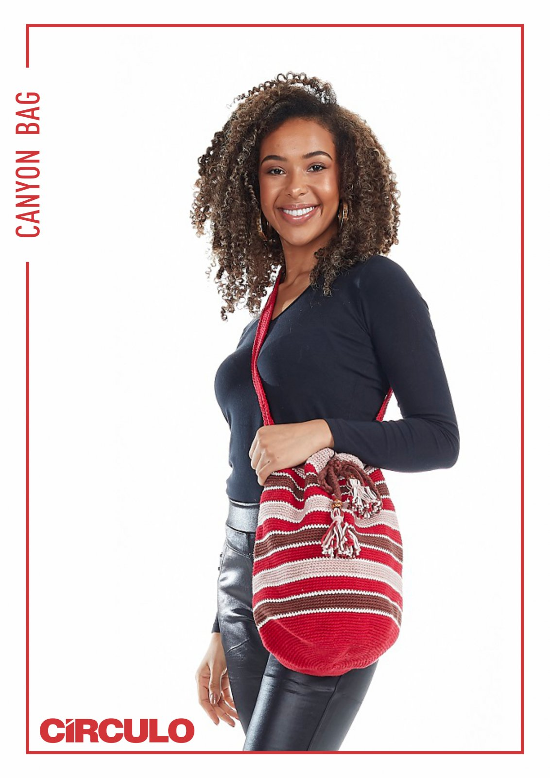 Circulo Duna Canyon Bag Pattern (Digital Download)