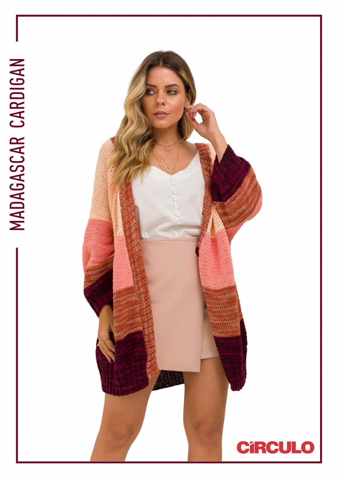 Circulo Duna Madagascar Cardigan Pattern (Digital Download)