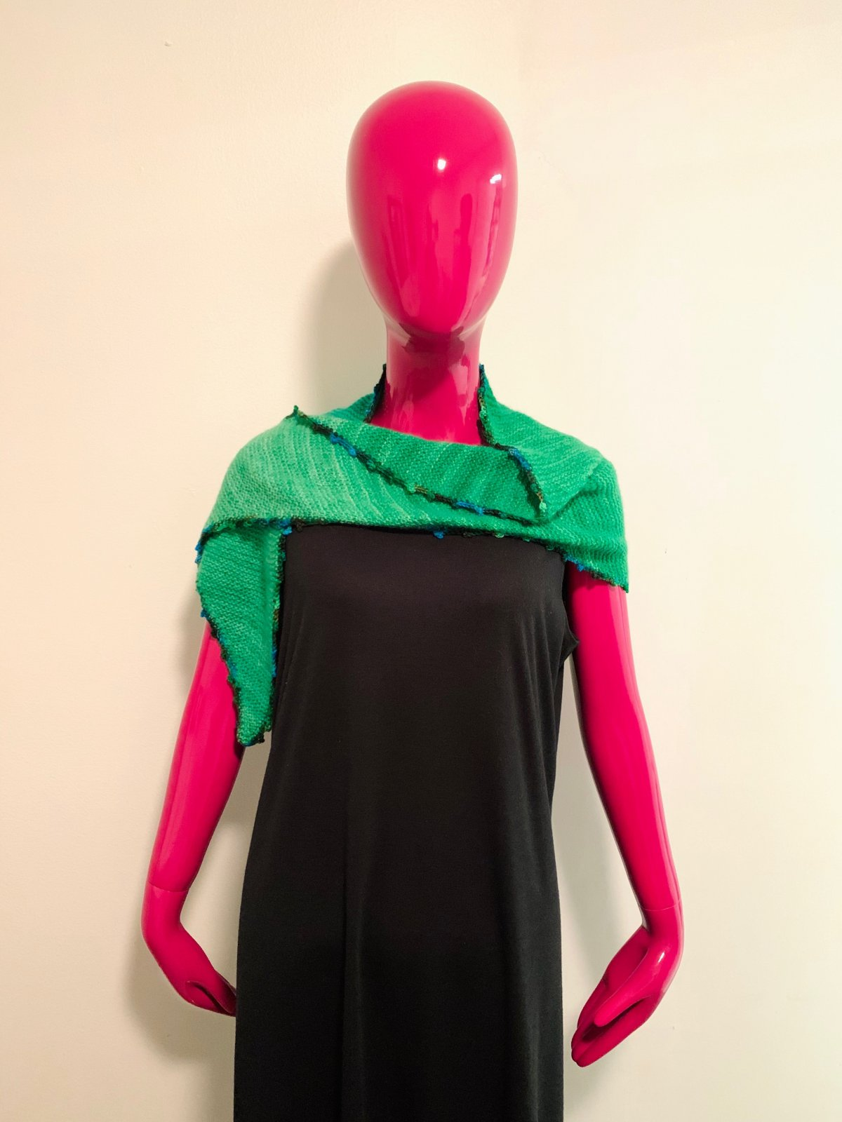 Green with Envy Shawlette (SHEEP THRILLS Exclusive)