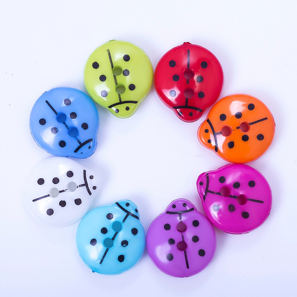 Button-Ladybug-Resin