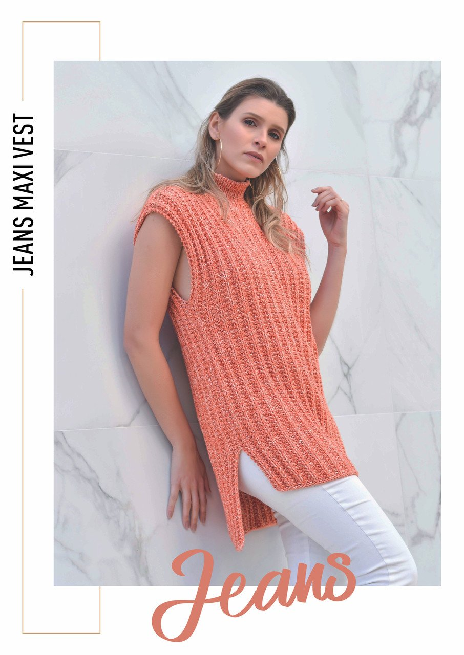 Circulo Jeans Maxi Vest Pattern (Digital Download)
