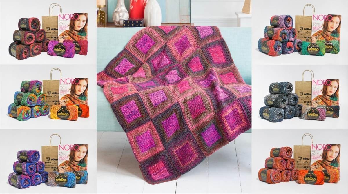 Square in a Square Blanket. Kagayaki  (KFI Lockdown Relief Kit)