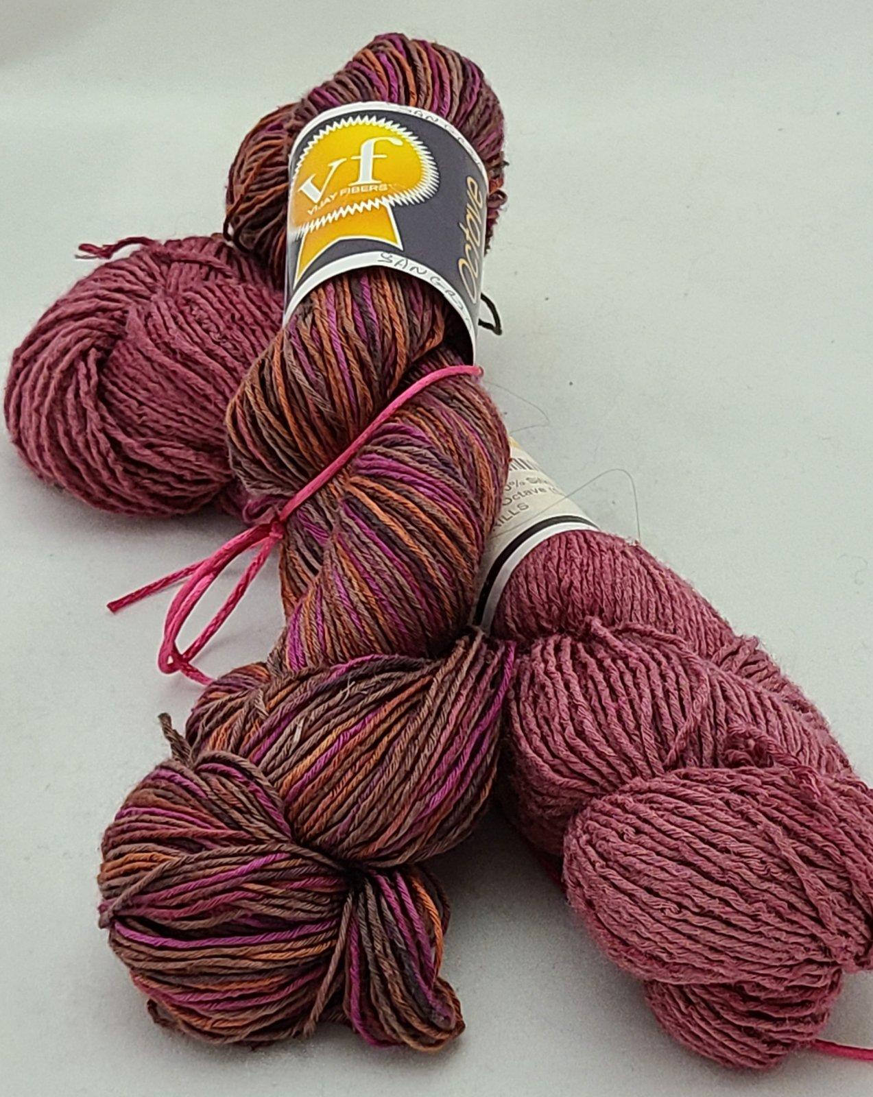 Lace Poncho (100% Silk) Kit (Vijay Fibers)