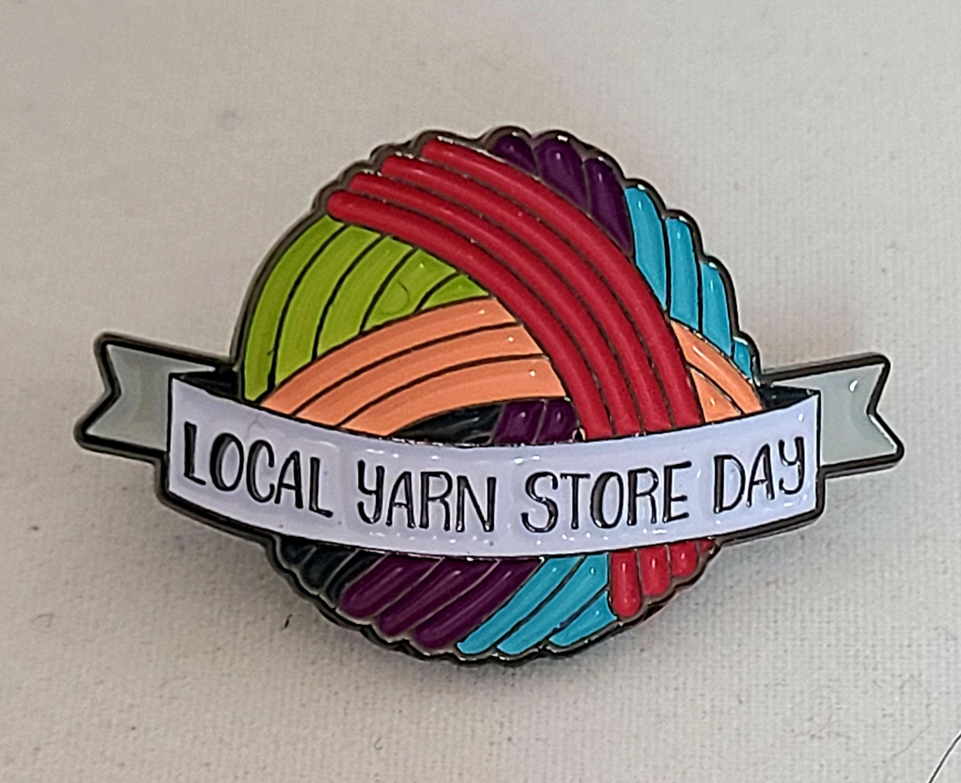 Local Yarn Store Day (2020) Pin (SHEEP THRILLS Exclusive)