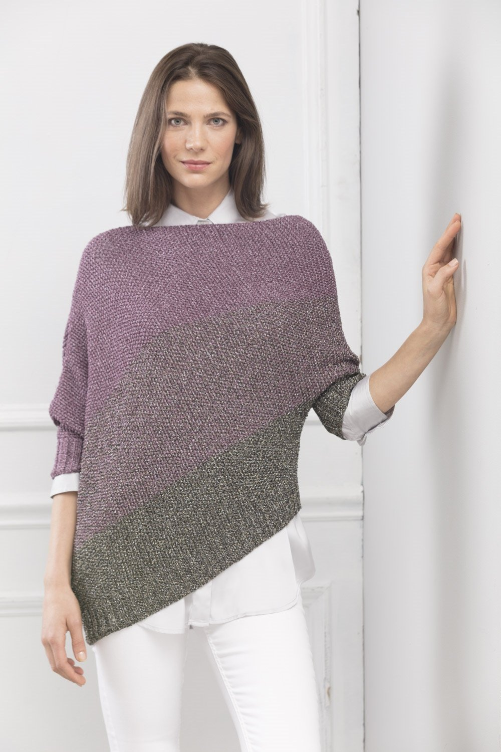 Majestic Asymmetrical Pullover Pattern