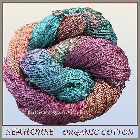 Organic Cotton (Blue Heron)