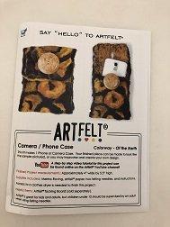 Say Hello to Artfelt: Camera / Phone Case