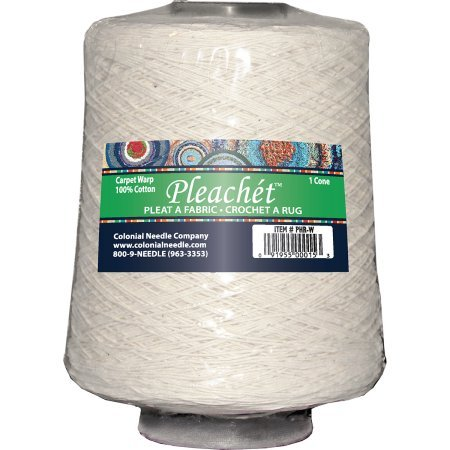 Pleachet Carpet Warp - 1 lb Cone