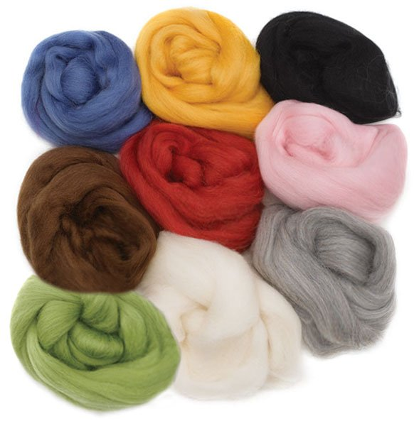 Roving-100% Wool-50g