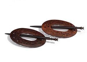 Wood Shawl Pin - Assorted Designs