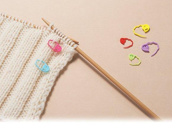 Locking Stitch Markers (Clover)