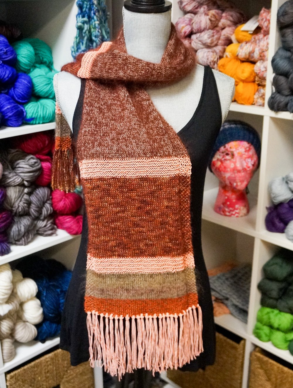 Six Color Scarf Kit