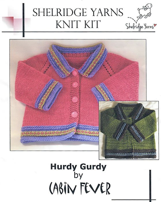 Shelridge Yarns Knit Kit Hurdy Gurdy
